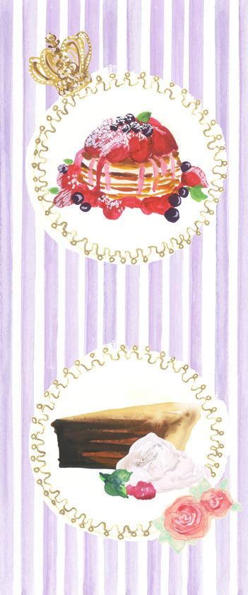 #広告 #花 #flower #デザイン #お洒落 #可愛い  #illustration #kanakobayashi #art #illust #パッケージ #pattern #柄 #模様 #sweets #スイーツ #food