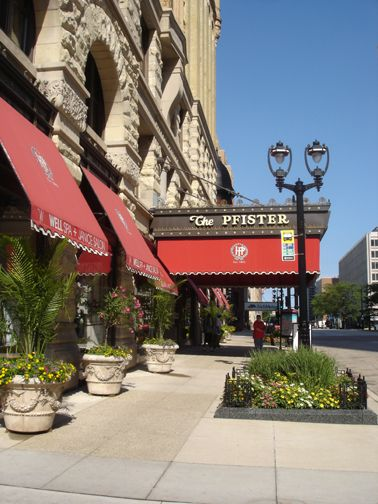 Pfister Hotel Milwaukee Exterior. I'm already packed for another visit to this beautiful hotel, and fun city!
