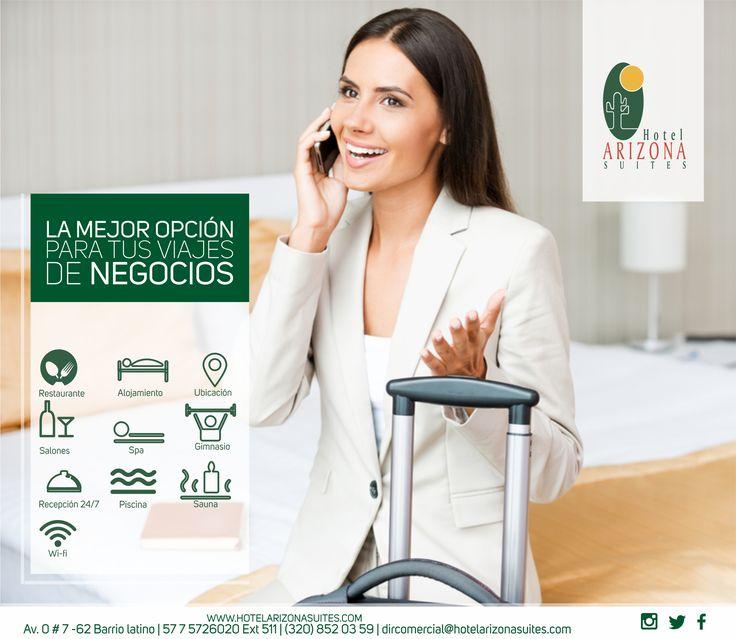 ¿Preparado para iniciar este 2018 tus #Viajesdenegocios? somos la mejor opción en #Cucuta para tu estadía, pregunta por nuestras #TarifasCorporativas y los beneficios que tenemos para usted. Comunícate al 57 7 5726020 Ext 511 #Colombia #Empresas