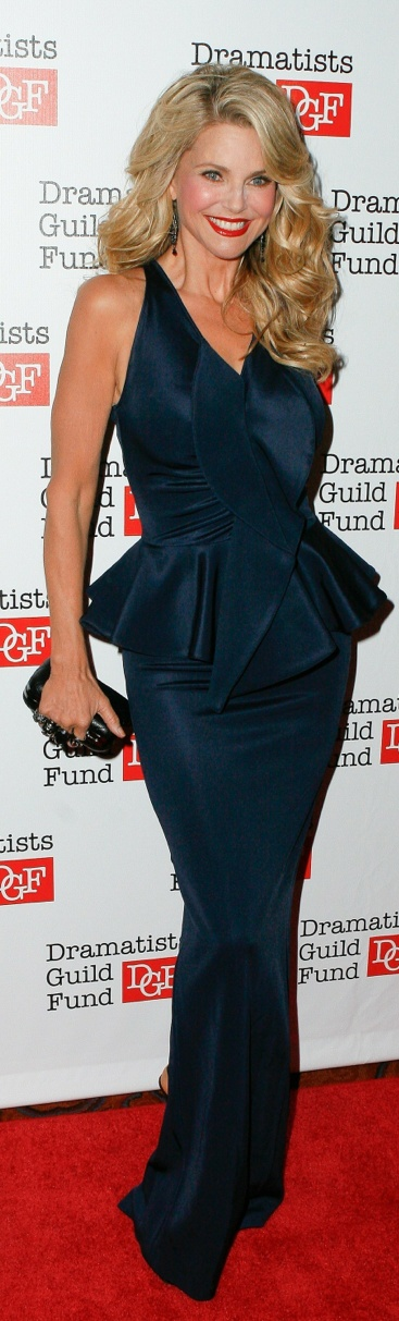 Inspiration - My hubbie's celebrity crush -  58 yr. old Christie Brinkley