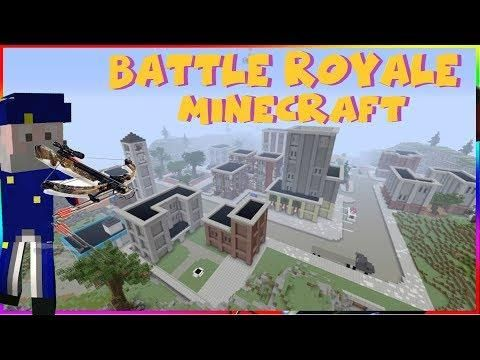 BATTLE ROYALE MINECRAFT EPISODE MAP TILTED TOWERS FORTNITE - Minecraft spiele maps