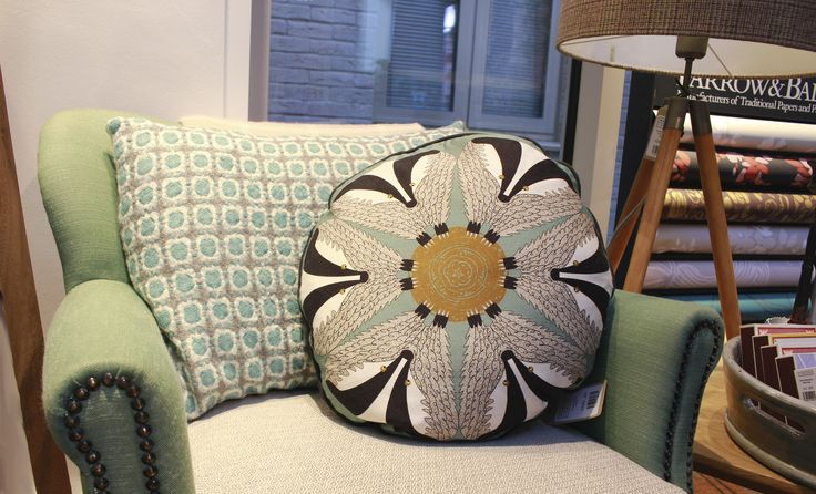 CUSHIONS - Different greens working well together