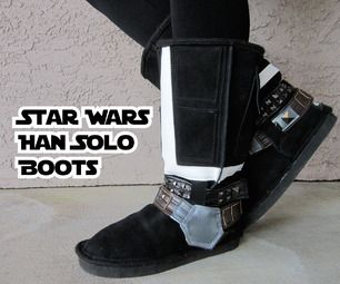 Star Wars Han Solo Boots DIY
