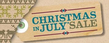 Christmas in July sales.