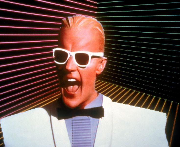 Max Headroom is a music video TV show that was on Channel 4 in the 80s.The series was based on the Channel 4 British TV pilot Max Headroom: 20 Minutes into the Future.