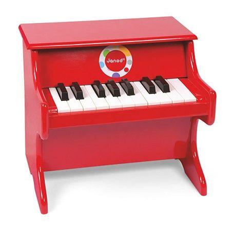 Cena: 289.00zł. Eksresowa wysyłka od ręki. CZERWONE PIANINO CONFETTI francuskiej firmy Dla... więcej na www.Tublu.pl #tublu #tublu_pl #zabawka #zabawki #dla #dzieci #toy #for #kid #vilac #piano #pianino #pianinko