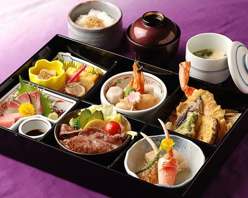 Kaiseki Bento.  Love Obento. The ones to go at all the train stations are excellent.