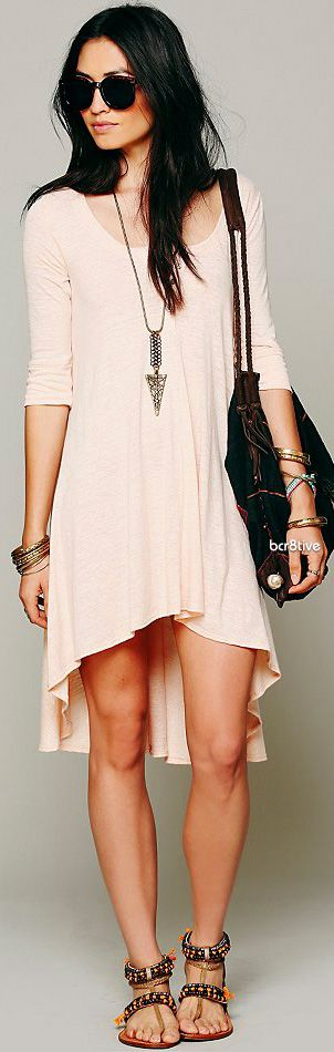FP Drippy Jersey Dress | 6 colors ♥ Dang you, Free People!! LOWER YOUR PRICES!!