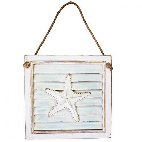 Starfish Wall Plaque 31cmL