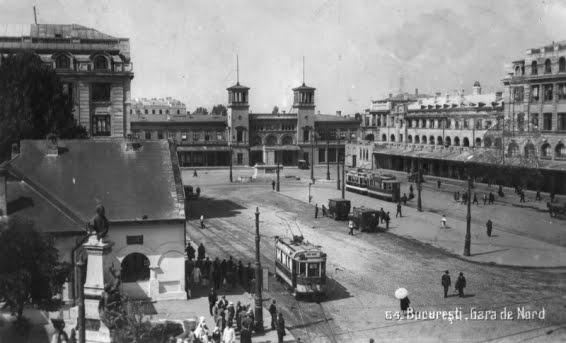 Bucharest North railway station, Romania, 1934