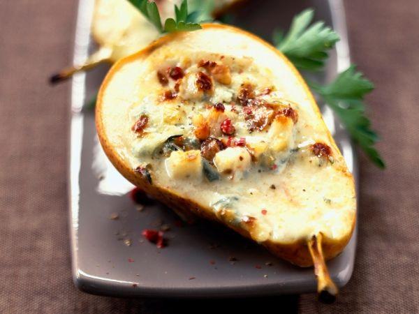 Peren met noten en blauwe kaas - Libelle Lekker!