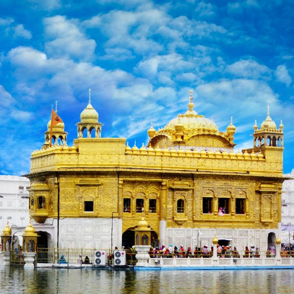 Did you know the Golden Temple in Amritsar is also known as the 'Darbar Sahib' or 'Harmandar Sahib'?