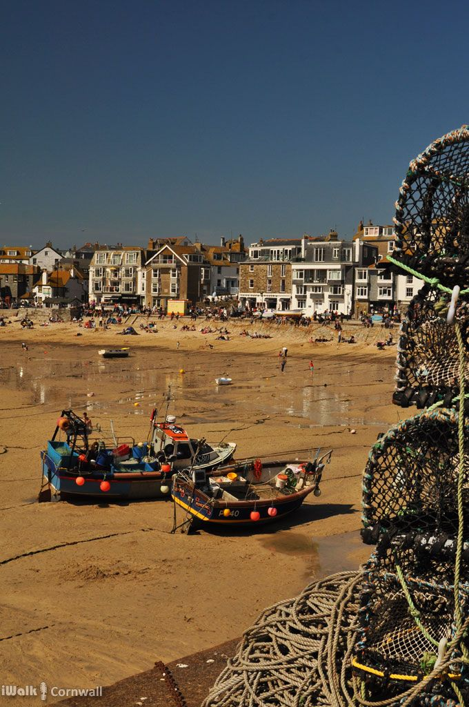 St Ives, Cornwall, yesterday (Easter Bank Holiday Monday 2015).  The perfect day: glorious sunshine, and bait left in the crab pots to distract the seagulls from stealing pasties.