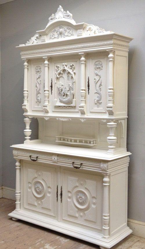 id3312 antique henri ii dresser buffets sideboard hutch cabinet pinterest meubles. Black Bedroom Furniture Sets. Home Design Ideas