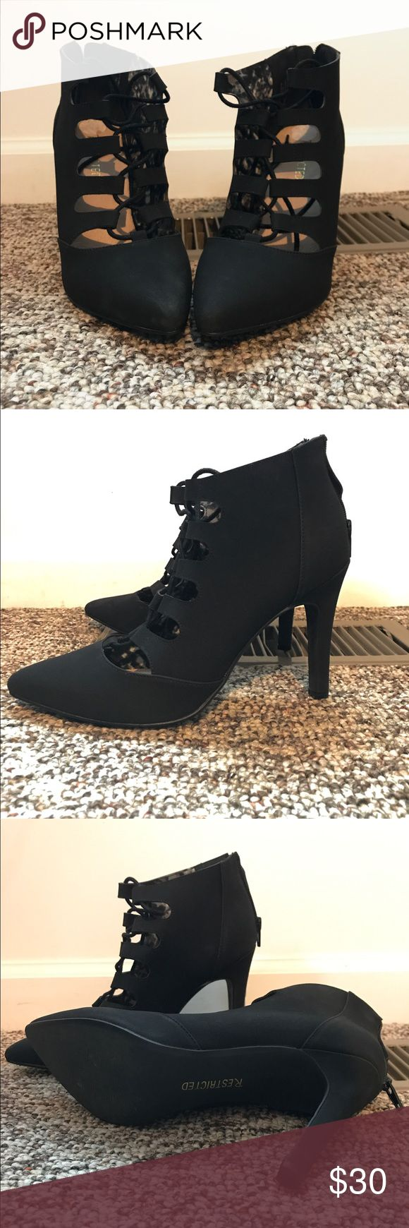 Restricted heels. Size 9 Restricted heels only worn once! Restricted Shoes Heels