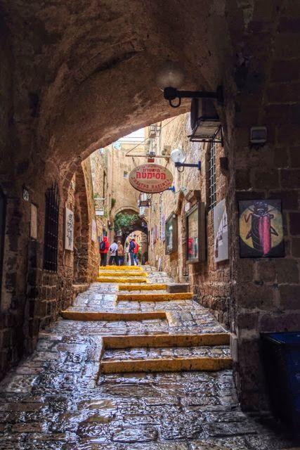 Old Jaffa, Tel Aviv, Israel. ~  Maria Triana ~ bordersofadventure.com/  ~  Fabulous Photography.