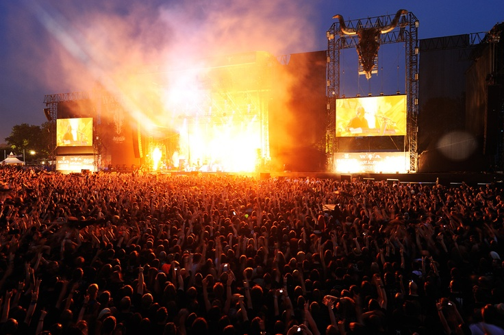 One of my favorite places in the world, the Wacken Open Air Festival. Being with 80,000 people from all over the world who celebrate their love for music together, regardless of religion, politics, ethnicity, sex, or nationality is an absolutely fantastic experience. Image: Blind Guardian at the Wacken Open Air 2011 (C) Kai Swillus