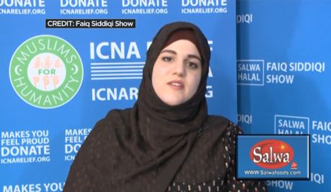 "New York: Queens, NY, Muslim Noelle Valentzas, name probably changed now, who wanted to kill Americans spoke for so-called Islamic ""charity"" ICNA -- SICK POS!!!"