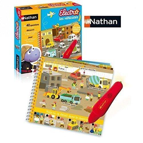 Electro Explore les vehicules - Nathan - 31457 - Jouets & activités créatives Electro