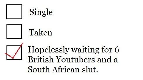 So very true. British youtubers .