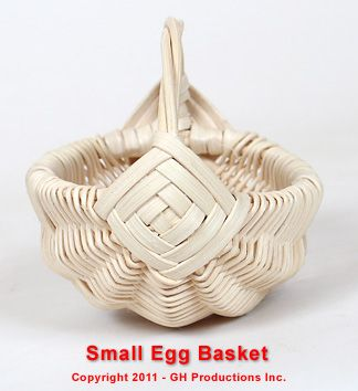 Small egg basket instructions (nice easy useful basket)
