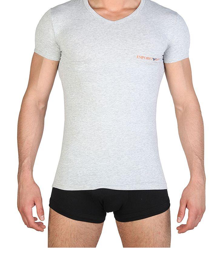 T-shirt uomo ARMANI 110810_6P525 Grigio - Primavera Estate - titalola.