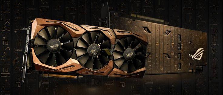 Impresionante la ASUS RoG Strix GTX 1080 Ti Assassin's Creed Origins Edition, la tarjeta gráfica desarrollada por ASUS inspirada en el videojuego que transcurre en el Antiguo Egipto. La mejor tarjeta gráfica gaming del mercado, es sin lugar a dudas, la NVIDIA GTX 180 Ti, la más potente que pode...