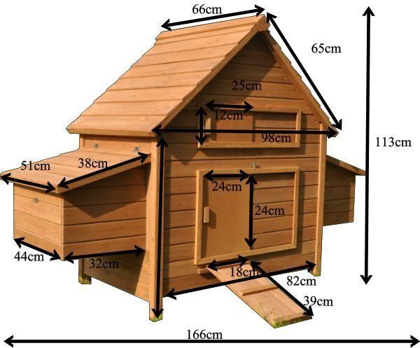 Une Nouvelle Garde Robe Plan Poulailler Poulailler Poulailler Palette