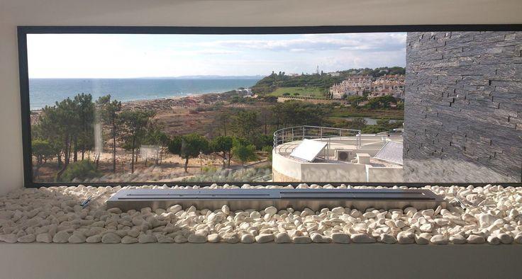 Bioethanol Burners | 2 x Burner V  Private Residence - Vale do Lobo, Algarve - Portugal   Photo by: Flame Decor www.flame-decor.pt