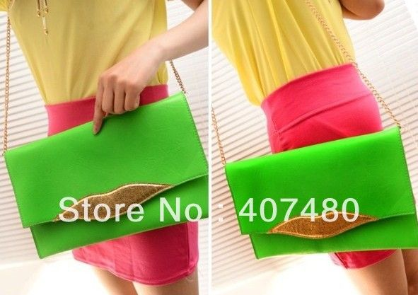 Find More Clutches Information about drop shipping sweet lip envelope clutch PU leather shoulder bag sling Handbag Designer Lady girl's women Fashion,High Quality leather shoulder bag,China handbag women Suppliers, Cheap handbags messenger bags from China Rui International Bags Trading Co., Ltd. on Aliexpress.com