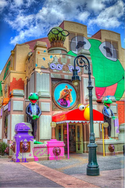 The Muppet Stuff Store at Disney's  Hollywood Studios -Oh, I hope this still exists!