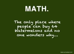 Funny Math Quotes on Pinterest | Funny Math Jokes, Funny Math and ... via Relatably.com