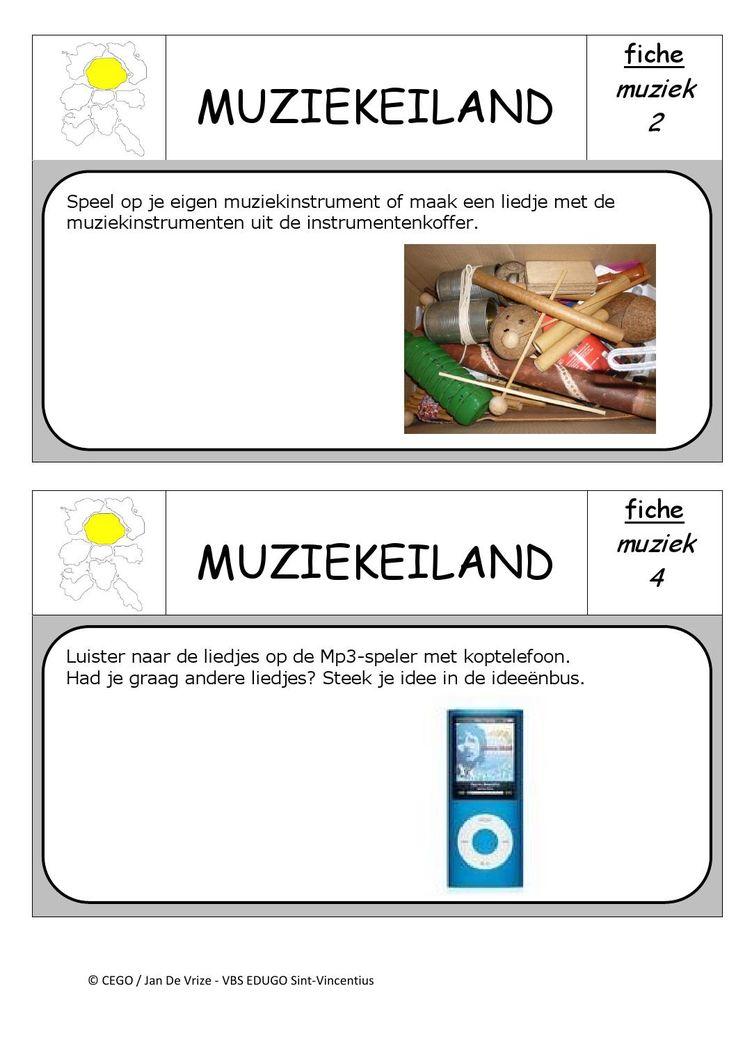 Muziekeiland opdrachten 2