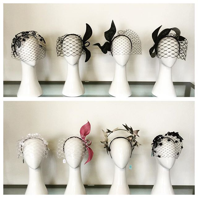 #birdcageveil These little cuties are available for sale in my studio. #millnery #caulfieldcup #bmwcaulfieldcup #birdcagecomp #ontrackontrend #racingfashion #melbournecup #RacingRoyalty #fascinator #birdcage #vrc #melbourneracingclub #instafashion #picoftheday #flinderslane #fashionattheraces #fotf #caulfieldfashionstakes #milliner #springracing