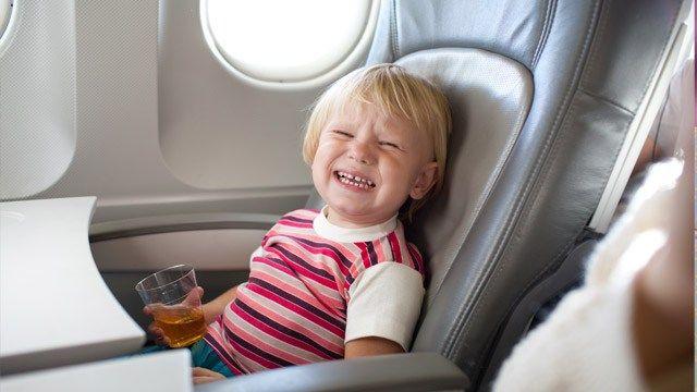 Penerbangan bersama si kecil