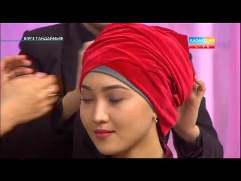 Как просто и красиво завязать тюрбан из платка!!!! красиво завязать платок на голову !!!! - YouTube