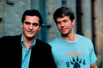 Joaquin Phoenix and Mark Wahlberg