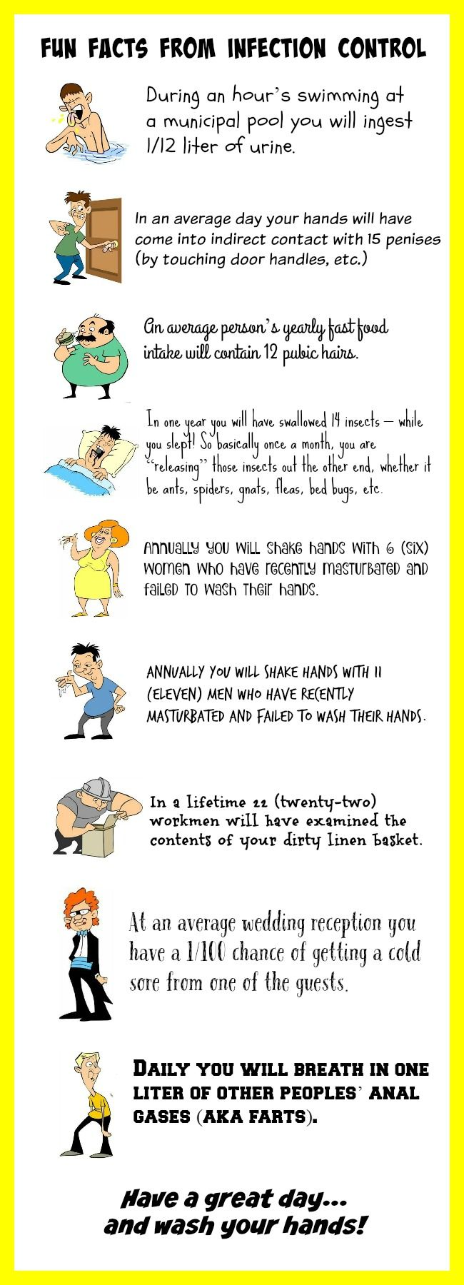 Fun Facts from Infection Control