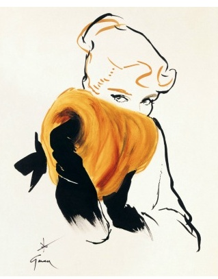 René Gruau, for Christian Dior
