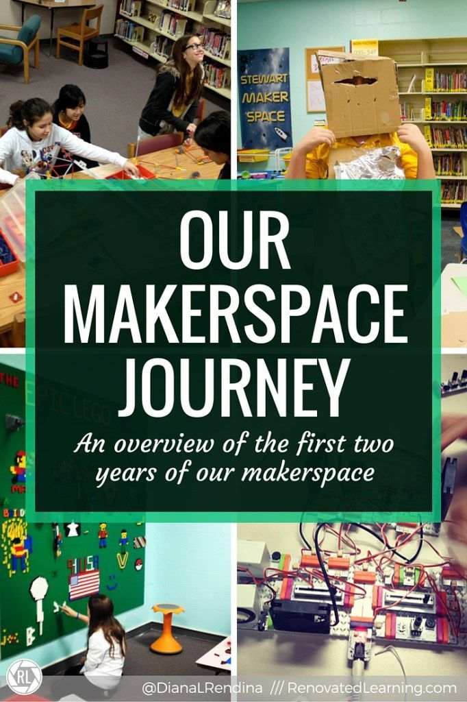 Our Makerspace Journey: We first started our makerspace at Stewart Middle Magnet School in January 2014 with a few bins of K'nex spread out on some library tables. It has since grown and expanded into a thriving program and a vital part of our library and school. Take a look back at our journey and see what we learned along the way.