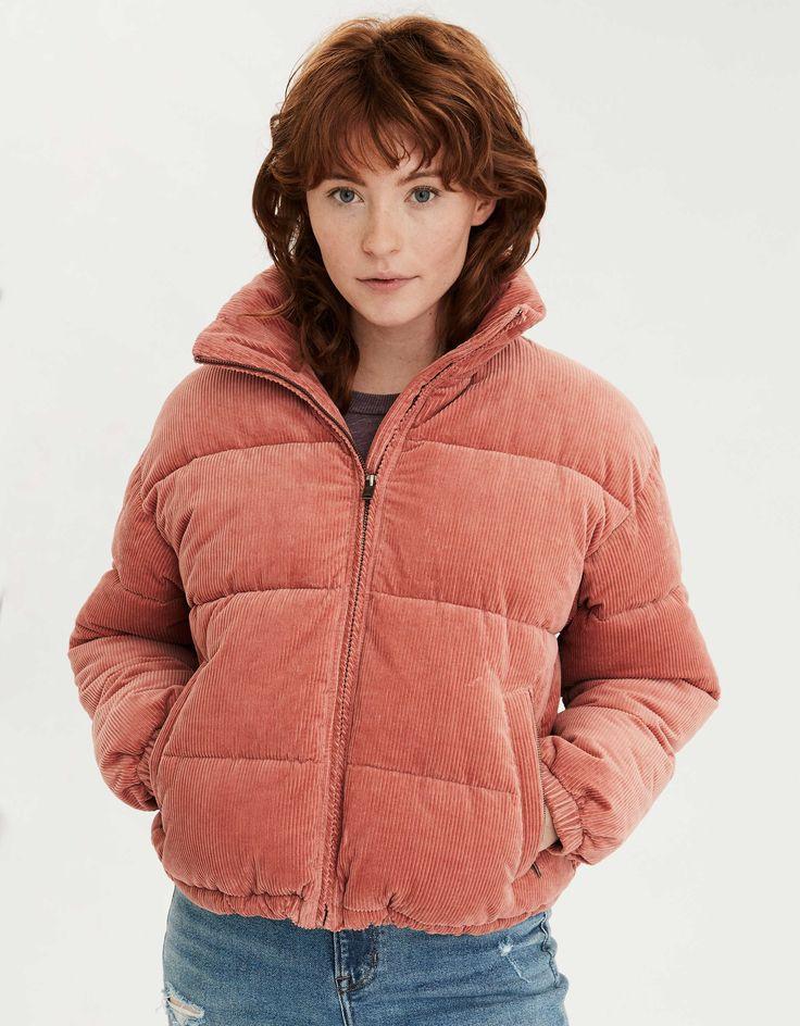 AE Corduroy Puffer Jacket | Куртка