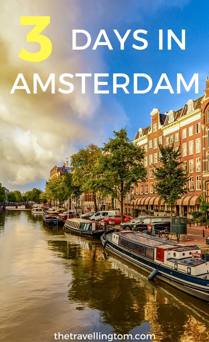 3 days in Amsterdam. The ultimate guide to one of the most beautiful cities in Europe. Find out the best things to do in Amsterdam and much more!  visit Amsterdam | Amsterdam, Netherlands | Amsterdam travel | where to stay in Amsterdam | where to go in Amsterdam | what to do in Amsterdam | Amsterdam travel guide #amsterdam #netherlands