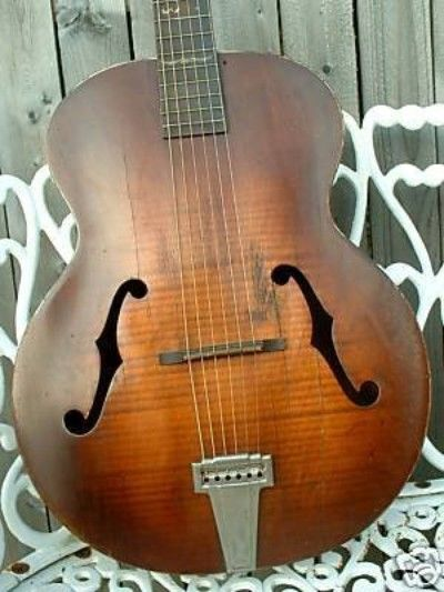 Vintage Supertone S261 Archtop 1930's by Harmony! (07/12/2009)