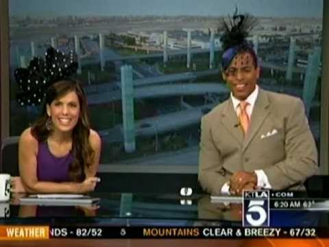 KTLA Morning News Team has a blast with British Hats!