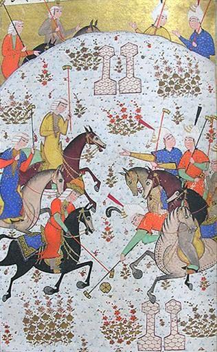 چوگان خسرو و شیرین خسرو دوم شاه ساسانی و شاهزاده خانم ارمنی شیرین صفر947 قمری،…