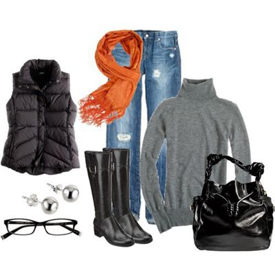ComfyFall Clothing, The Weekend, Fall Outfits, Fall Winte, Winter Outfits, Fall Fashion, Orange Scarf, Boots, Cold Weather