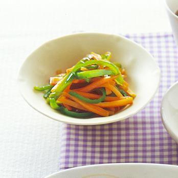 にんじんとピーマンのきんぴら | 中島有香さんのおつまみの料理レシピ | プロの簡単料理レシピはレタスクラブニュース