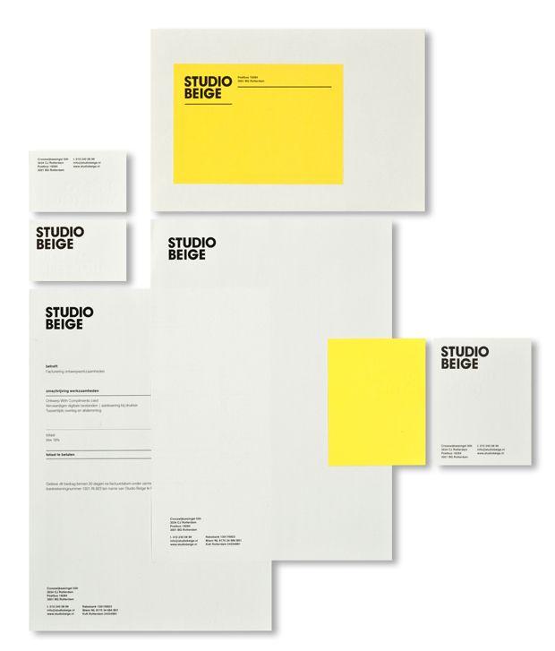 Studio Beige #stationary #identity #branding #logo