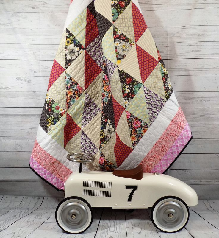A personal favourite from my Etsy shop https://www.etsy.com/uk/listing/271335994/homemade-quilt-sofa-blanket-bohemian