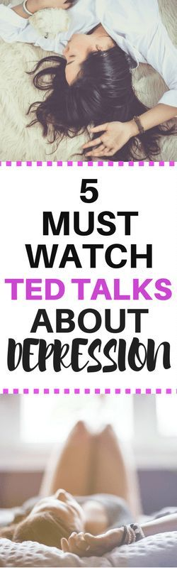 If you're struggling to manage symptoms of depression try watching these TED talks